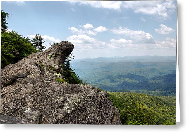 Paul Lyndon Phillips Greeting Cards - Blowing Rock North Carolina - c0606 Greeting Card by Paul Lyndon Phillips