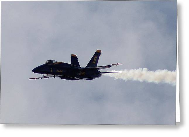 Angels Numbers Greeting Cards - Blue Angel Greeting Card by Shawn Sipes