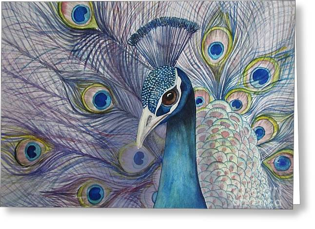 Martha Ayotte Greeting Cards - Blue Beauty Greeting Card by Martha Ayotte