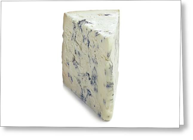 Blue Cheese Greeting Card by Science Photo Library