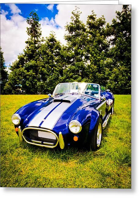 Autofocus Photographs Greeting Cards - Blue Cobra Greeting Card by Phil