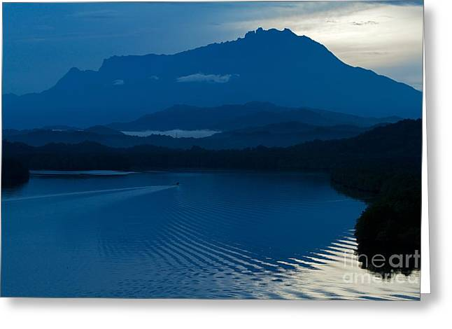 Blue Dawn  Greeting Card by Gary Bridger