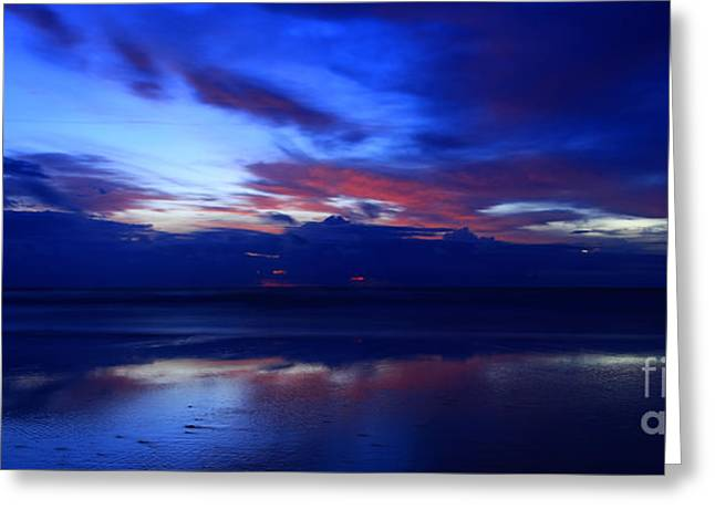 Jacksonville Greeting Cards - Deep Dawn Ponte Vedra Greeting Card by John Tsumas