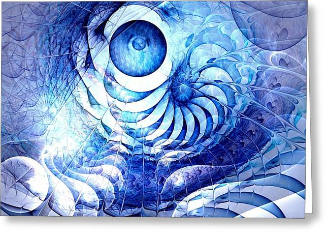 Blue Dream Greeting Card by Anastasiya Malakhova