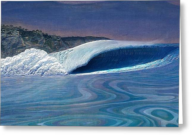 California Reliefs Greeting Cards - Blue Dream Greeting Card by Nathan Ledyard