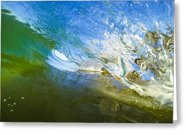 Go Pro Greeting Cards - Blue-Green Room Greeting Card by David Alexander