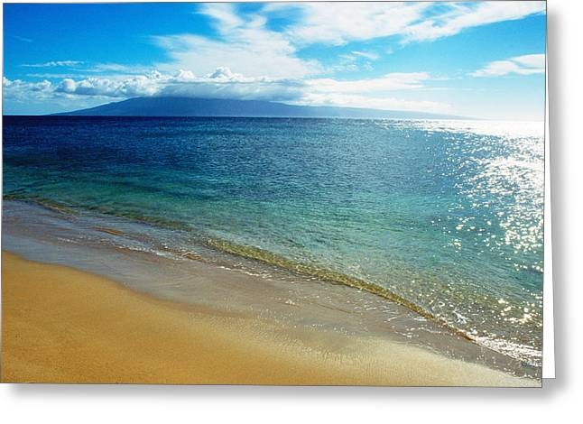 Kathy Yates Photography. Greeting Cards - Blue Hawaii Greeting Card by Kathy Yates