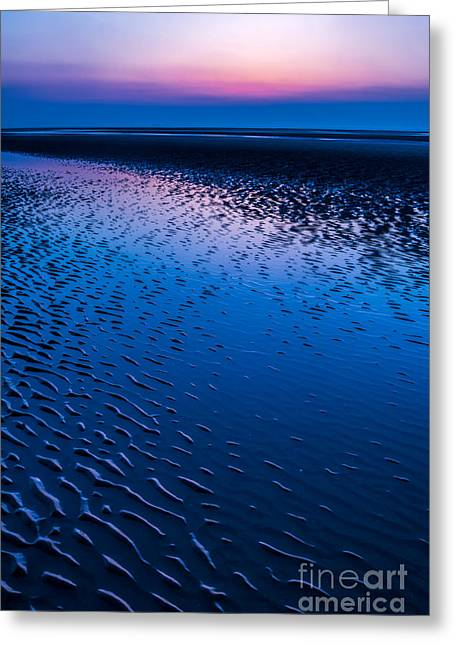 Bay Greeting Cards - Blue Hour  Greeting Card by Adrian Evans