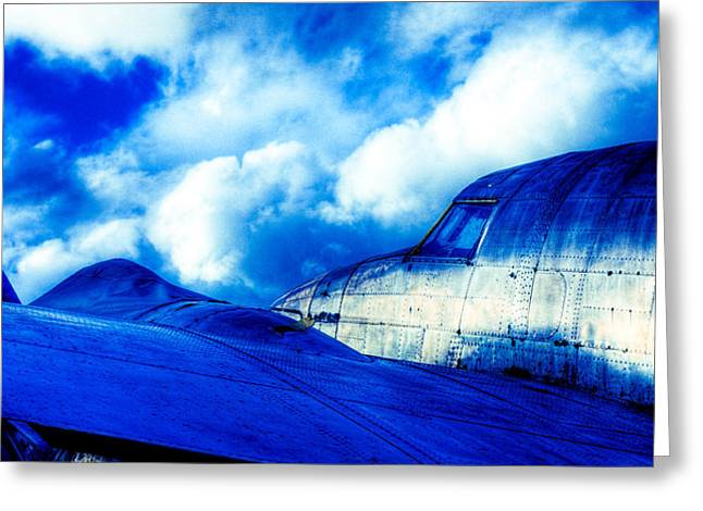 Blue Hudson Greeting Card by motography aka Phil Clark