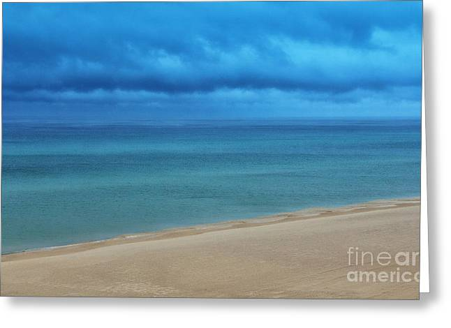 Ocean Art Photos Greeting Cards - Blue Lagoon  Greeting Card by Dave Bosse
