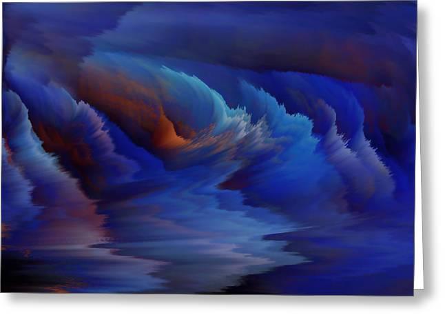Blue Lagoon Greeting Card by Patricia Kay