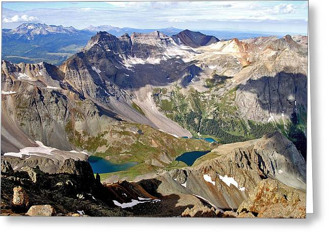 Jeremy Greeting Cards - Blue Lakes Beauty Greeting Card by Jeremy Rhoades