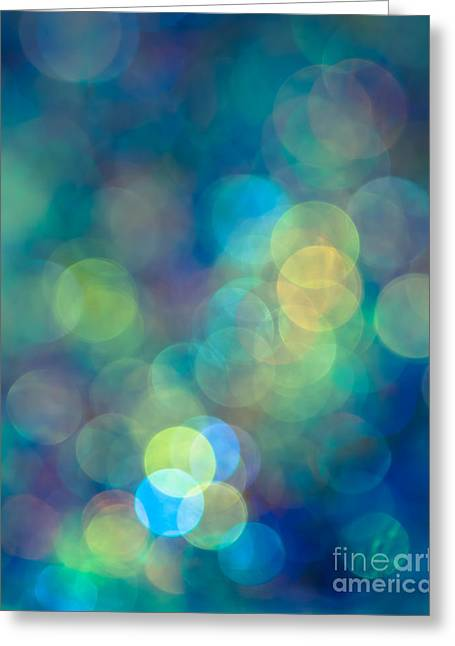 Effect Greeting Cards - Blue of the Night Greeting Card by Jan Bickerton
