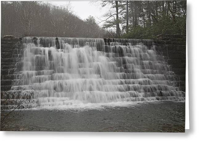 Mystical Landscape Greeting Cards - Blue Ridge Parkway Meandering Waters  Greeting Card by Betsy C  Knapp