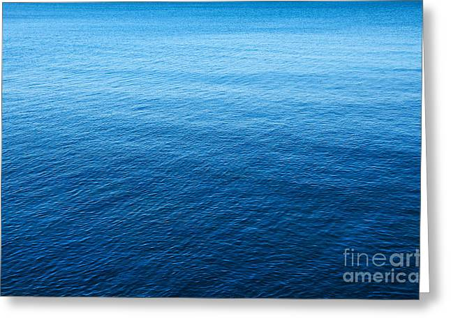 Light Aqua Greeting Cards - Blue Sea Greeting Card by Carlos Caetano