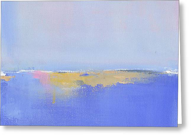 New England Ocean Greeting Cards - Blue Silences Greeting Card by Jacquie Gouveia