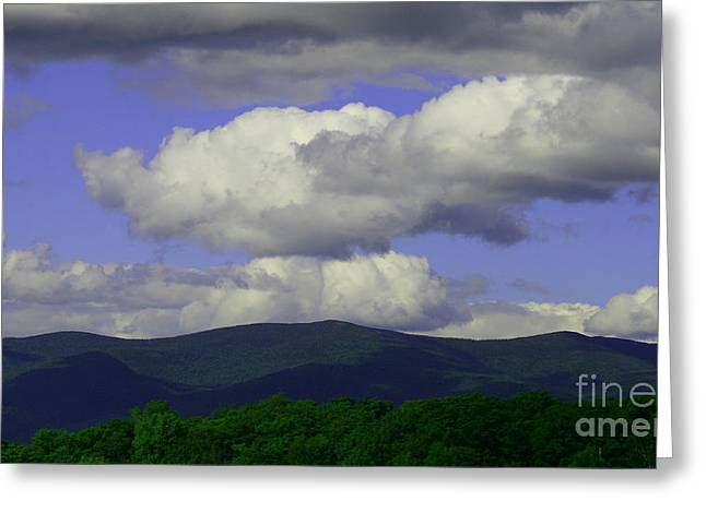 Landscape Photos Greeting Cards - Blue Sky Greeting Card by Neal  Eslinger