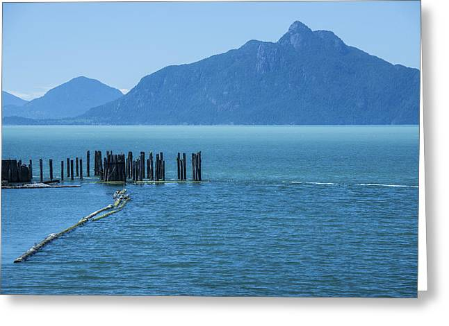 Howe Greeting Cards - Blue Sound Greeting Card by Aaron S Bedell