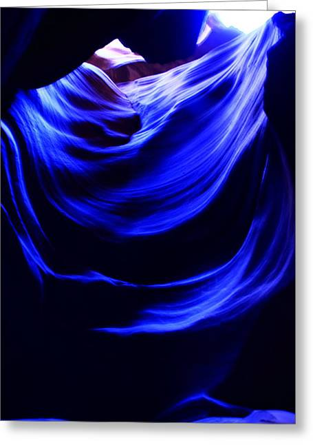 Aidan Moran Photography Greeting Cards - Blue Velvet  Greeting Card by Aidan Moran