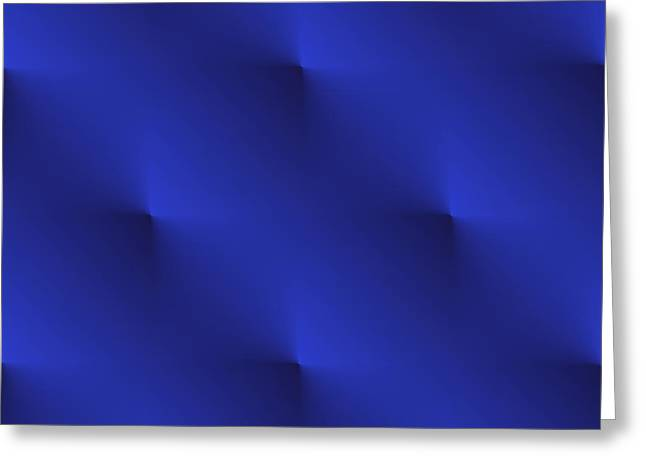 Posh Greeting Cards - Blue Velvet Greeting Card by Valentino Visentini