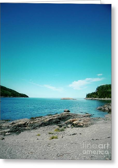 Aimelle Photography Greeting Cards - Blue View Greeting Card by Aimelle