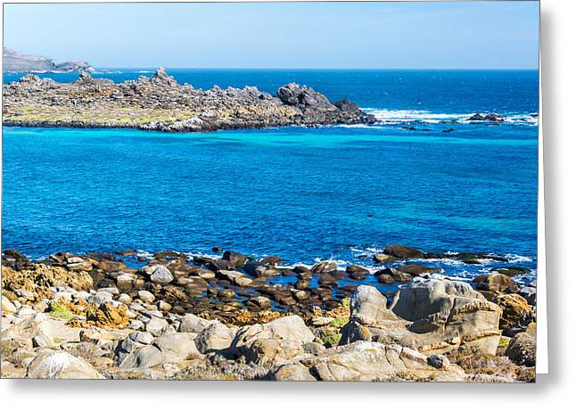 Blue Water At Damas Island Greeting Card by Jess Kraft