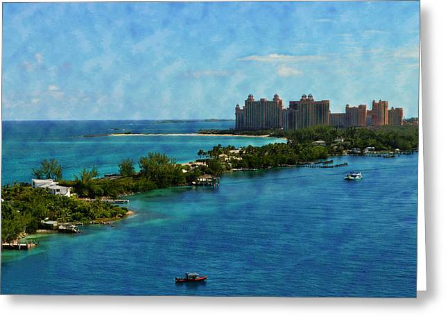Kathy Jennings Photographs Greeting Cards - Blue Water Greeting Card by Kathy Jennings