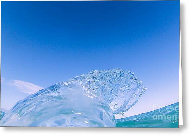 Go Pro Greeting Cards - Blue Greeting Card by William Martin-Genier