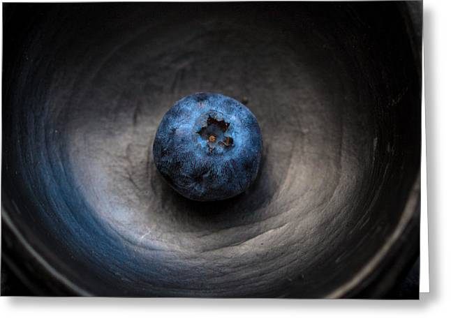 Harding Greeting Cards - Blueberry Greeting Card by Constance Fein Harding