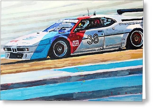 Bmw M1 Procar 1979 Greeting Card by Yuriy Shevchuk