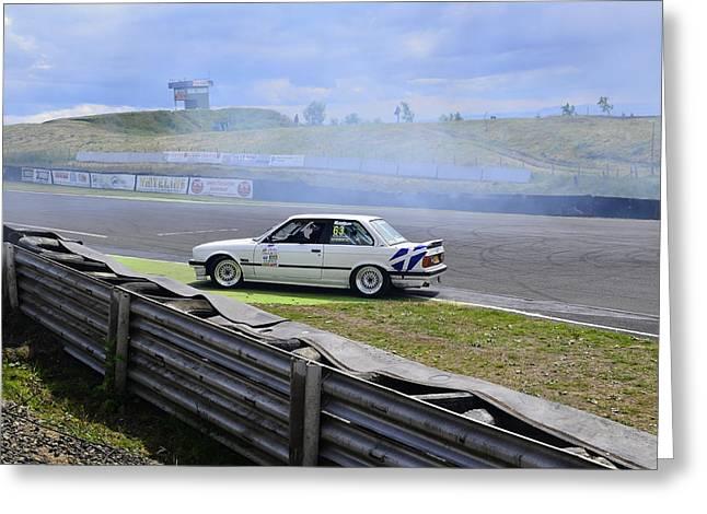Prodrive Greeting Cards - BMW M3 Pose Greeting Card by Phil Kellett