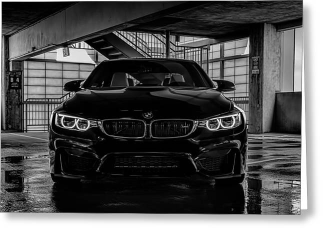 Germans Greeting Cards - Bmw M4 Greeting Card by Douglas Pittman