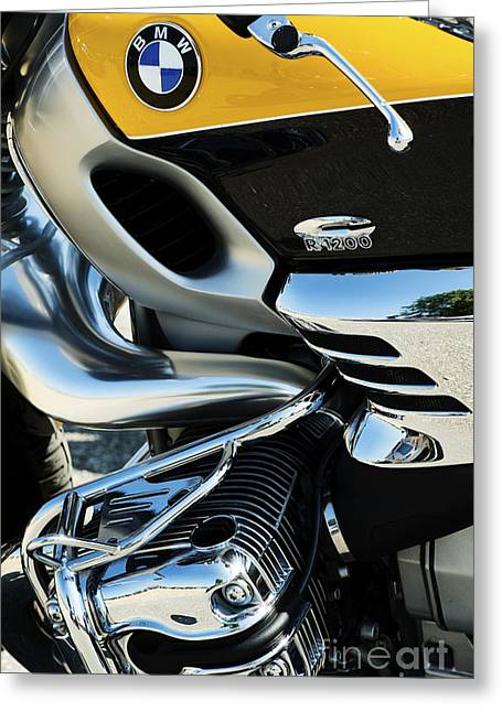 Boxer Greeting Cards - Bmw R1200c Greeting Card by Tim Gainey