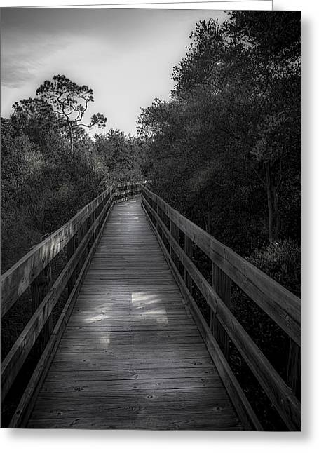 Boardwalk Greeting Cards - Boardwalk Escape Greeting Card by Marvin Spates