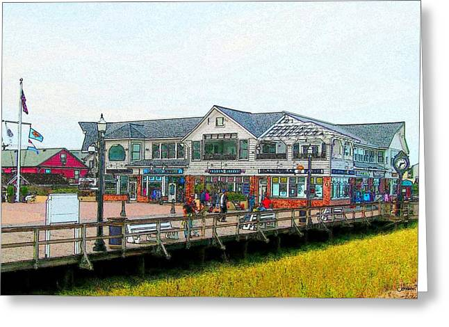 Bethany Beach Greeting Cards - Boardwalk Fries Greeting Card by Jeffrey Todd Moore