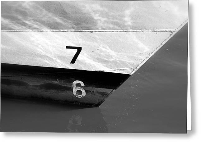 Ships Detail Greeting Cards - Boat 76 Greeting Card by Valentino Visentini