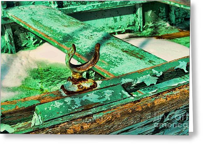 Seafarer Greeting Cards - Boat - Abandoned and Decayed Greeting Card by Paul Ward