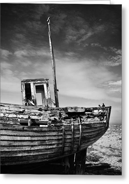 Ships And Boats Greeting Cards - Boat Greeting Card by Mark Rogan