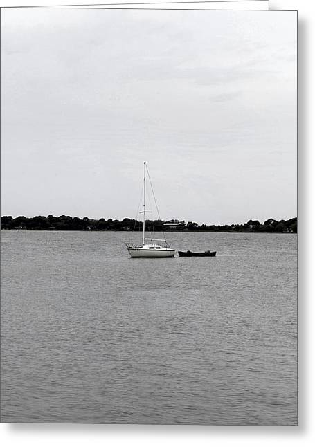 Cedar Key Greeting Cards - Boats Greeting Card by William Ragan