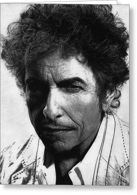 Blonde On Blonde Greeting Cards - Bob Dylan  Greeting Card by Justin Clark
