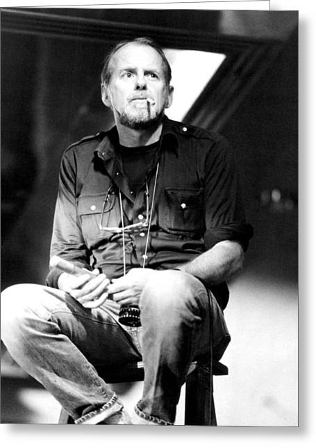 Tv Set Greeting Cards - Bob Fosse in Bob Fosse: On the Set  Greeting Card by Silver Screen
