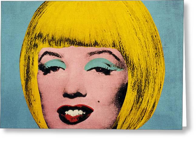 Bob Marilyn  Greeting Card by Filippo B