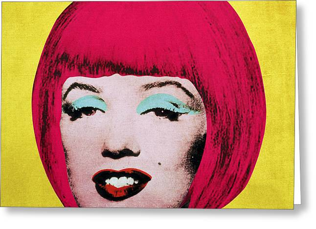 Signature Digital Art Greeting Cards - Bob Marilyn  variant 1 Greeting Card by Filippo B