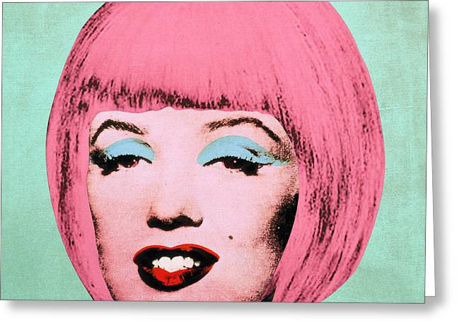 Signature Digital Art Greeting Cards - Bob Marilyn  Variant 2 Greeting Card by Filippo B