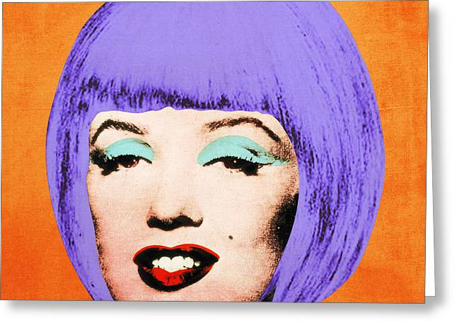 Signature Digital Art Greeting Cards - Bob Marilyn Variant 3 Greeting Card by Filippo B