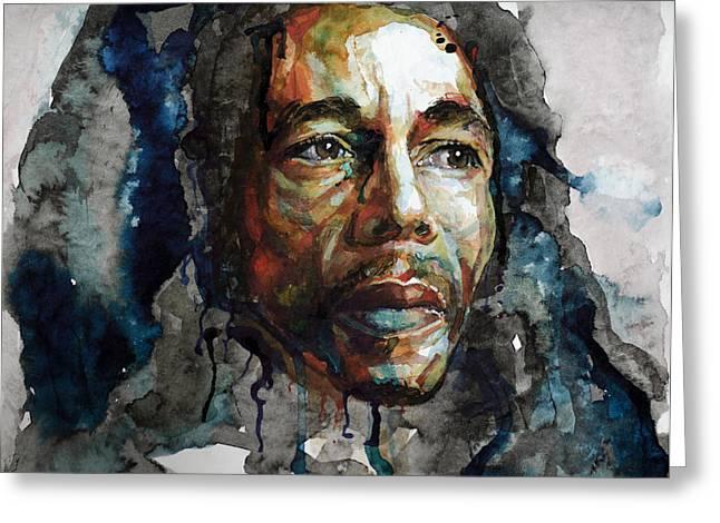 Bob Marley Artwork Greeting Cards - Bob Marley Greeting Card by Laur Iduc
