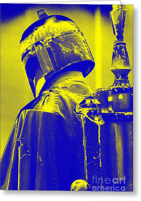 Science Fiction Greeting Cards - Boba Fett costume 1 Greeting Card by Micah May