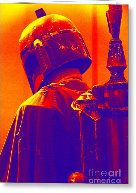 Science Fiction Greeting Cards - Boba Fett costume 2 Greeting Card by Micah May