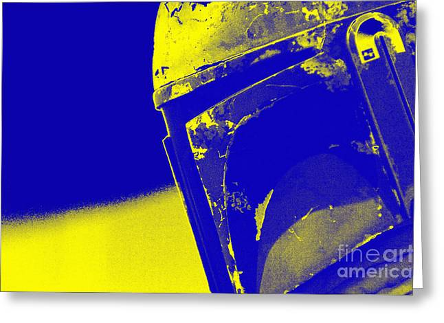 Jet Star Photographs Greeting Cards - Boba Fett Helmet 20 Greeting Card by Micah May