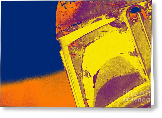 Jet Star Photographs Greeting Cards - Boba Fett Helmet 21 Greeting Card by Micah May
